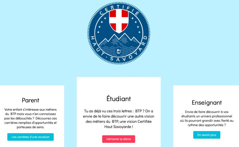 Découvrez le site Certifié Haut-Savoyard